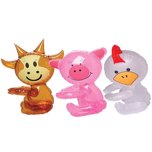 Farm Animal Baby Shower Tableware