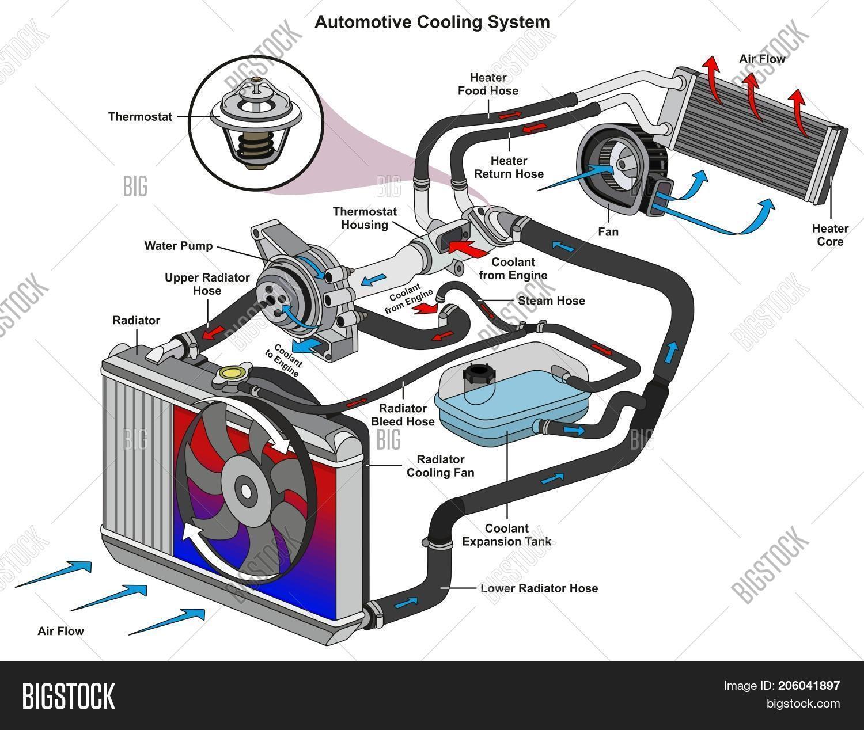 2000 Ford Explorer Cooling System Diagram