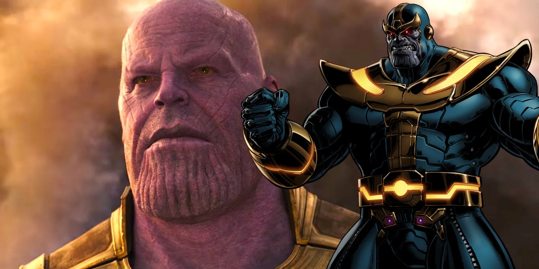 War Thanos Infinity Cartoon