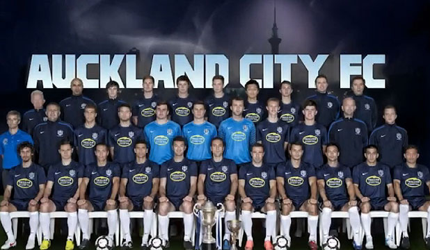 Auckland City Fc Warming Up For Fifa Stuff Co Nz