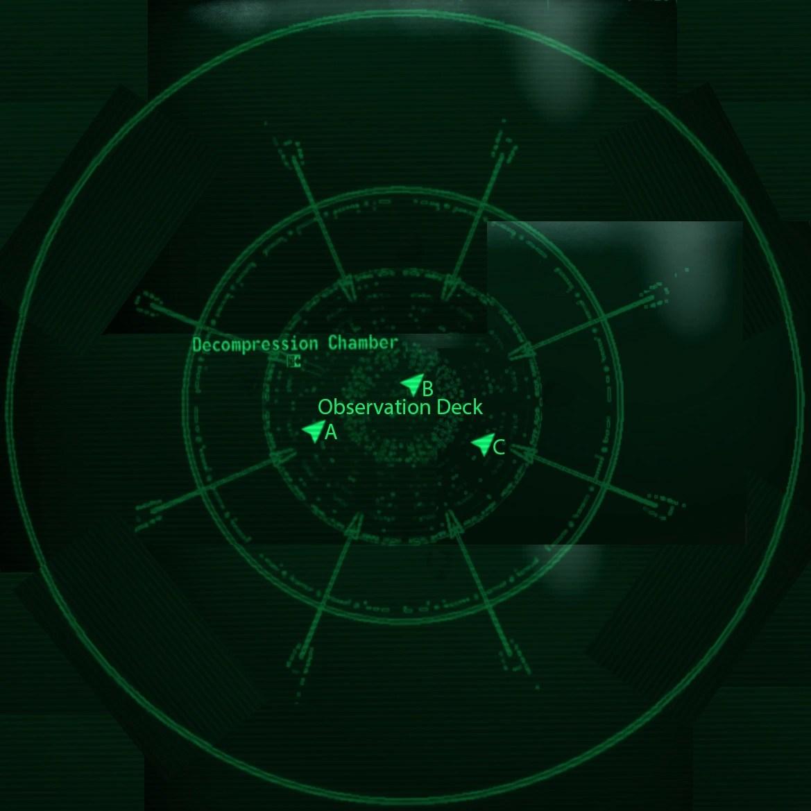 Fallout 3 Mothership Zeta Locations Map on