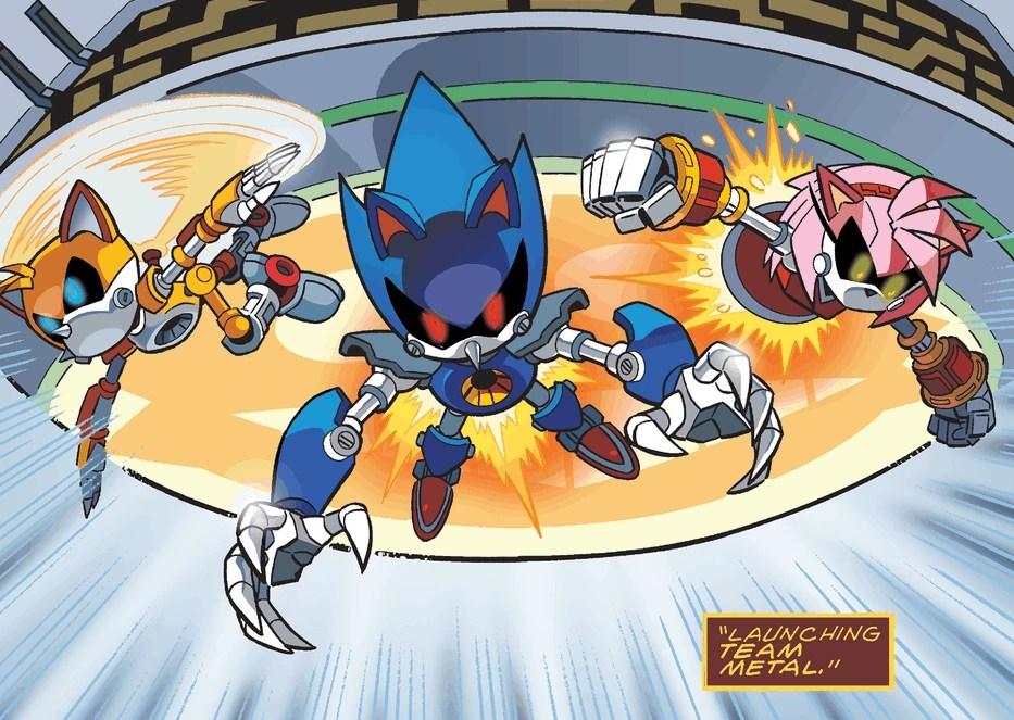 Metal Sonic Vs Mecha Sonic