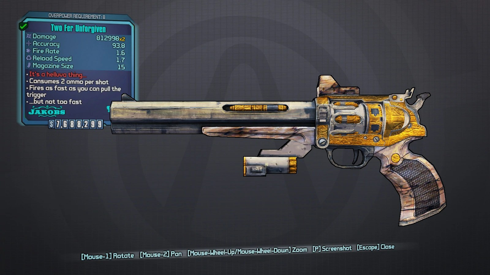 8 Op Borderlands 2 Weapons