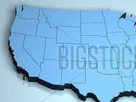 HD Decor Images » USA 3D America North US map shape geographical Poster ID 148803713 USA 3D America North US map shape geographical poster