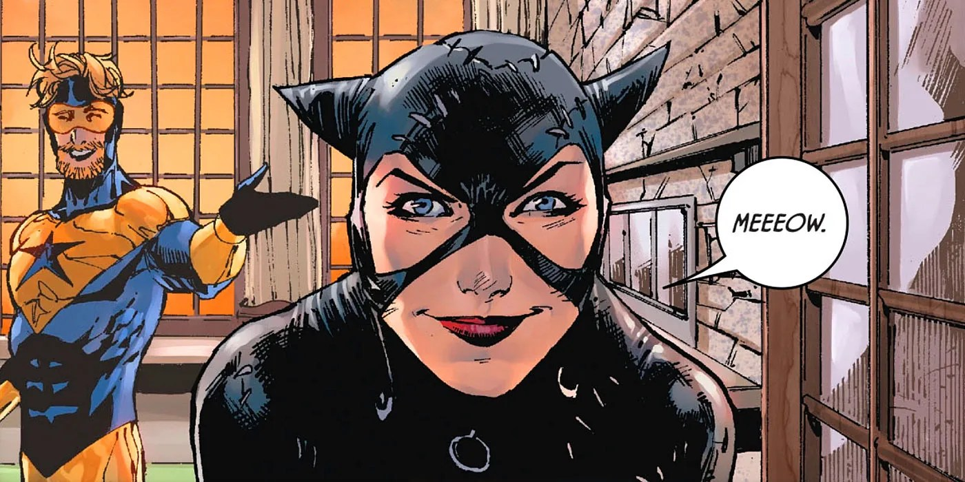 The Weird Origin of Catwoman's 'Michelle Pfeiffer' Comics ...