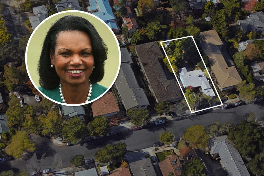 Condoleezza Rice Parts With Palo Alto Pad For 2