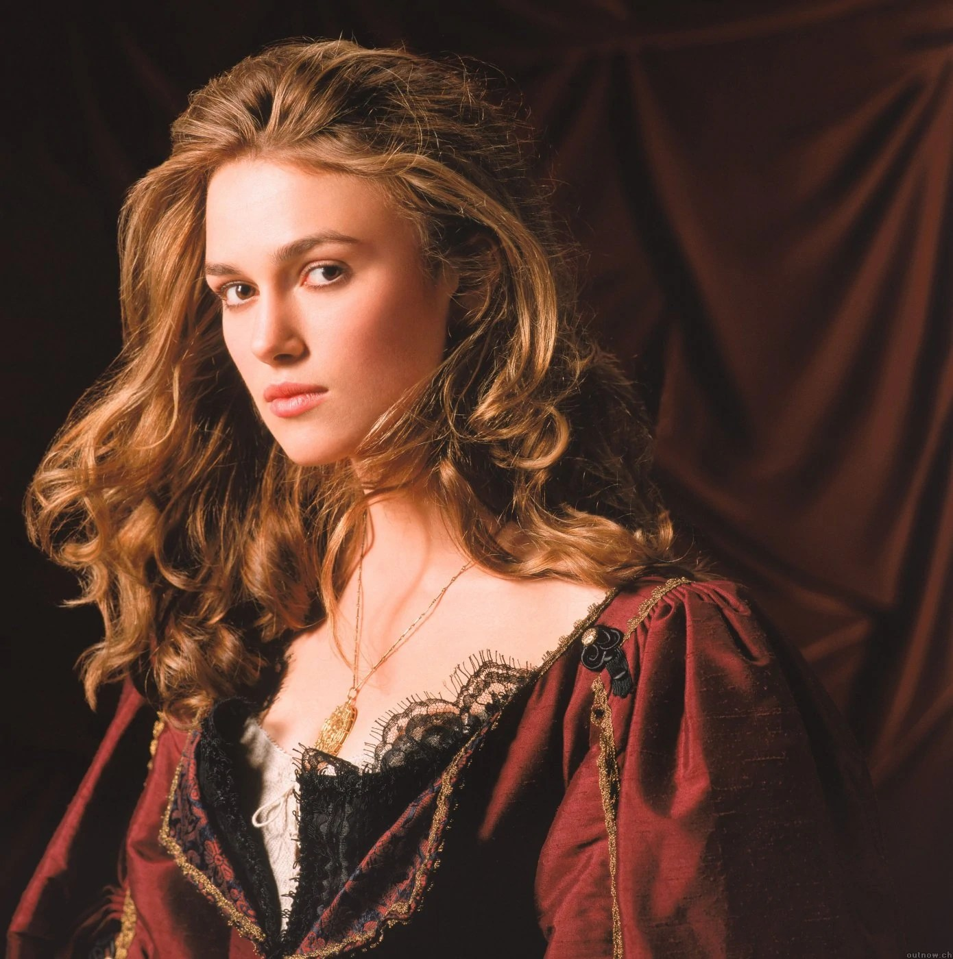 Keira Knightley Black Pearl