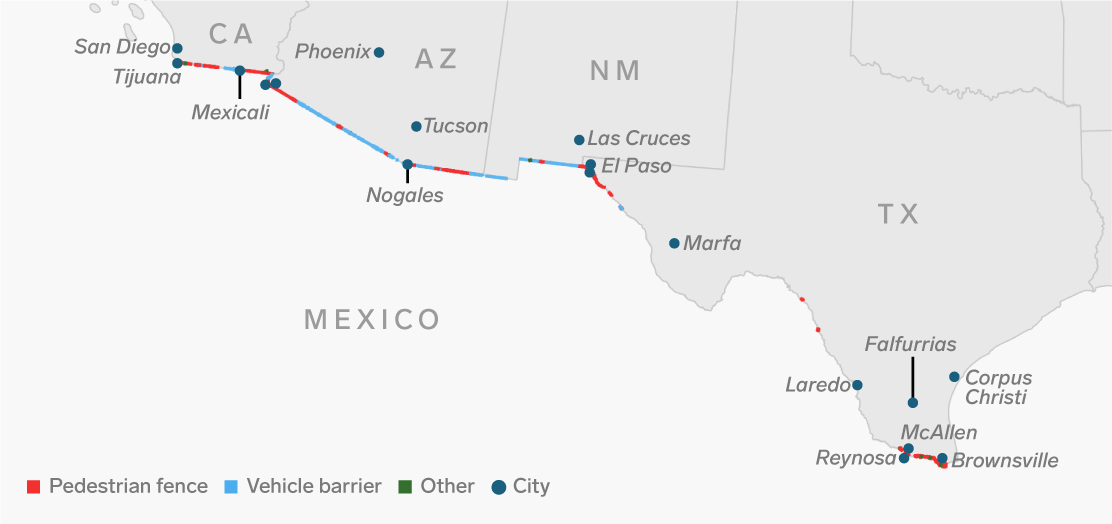 Mexico Border New Crossings