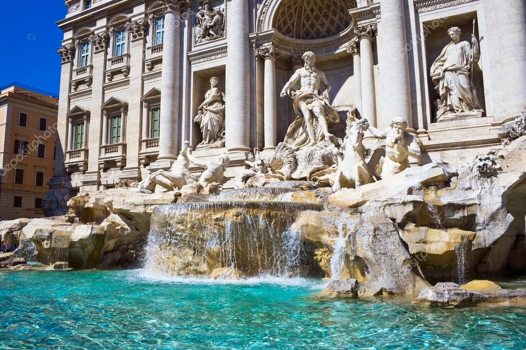 trevi fountain images - 971×666