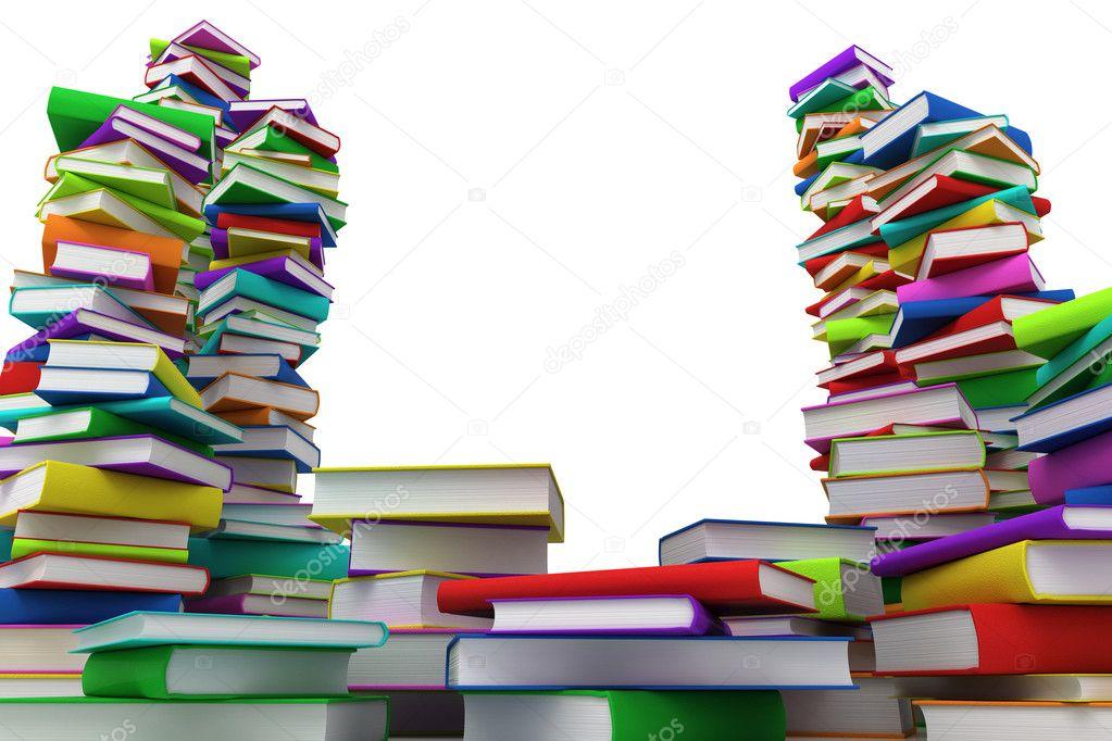 pile of books - HD1680×1050