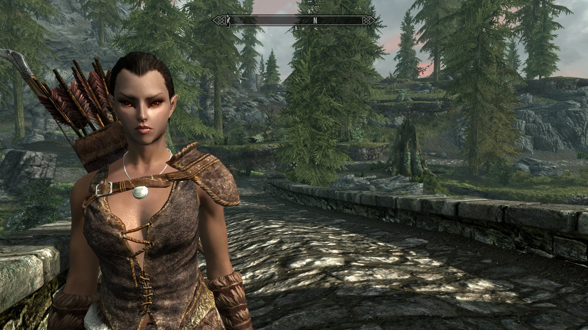 Skyrim Wood Elf Female