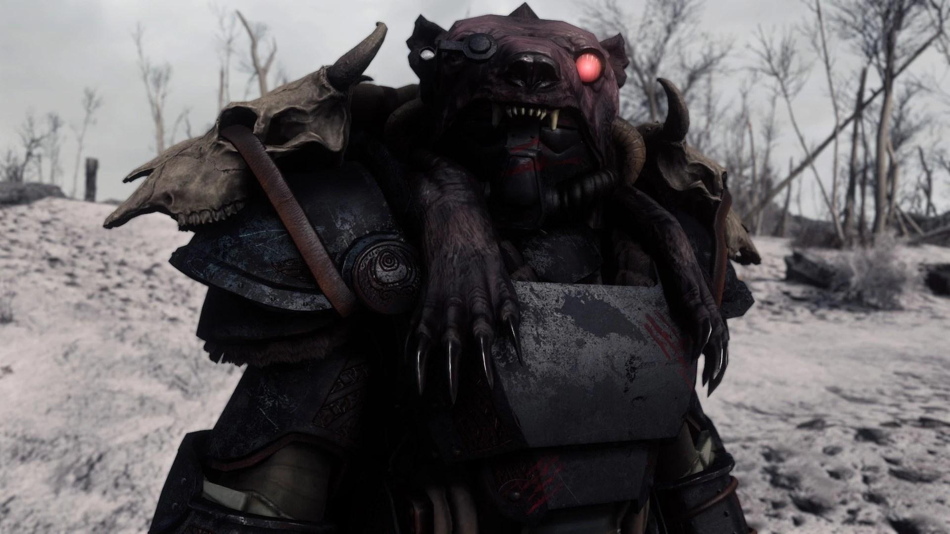 Mod Power Fallout Skyrim Armor