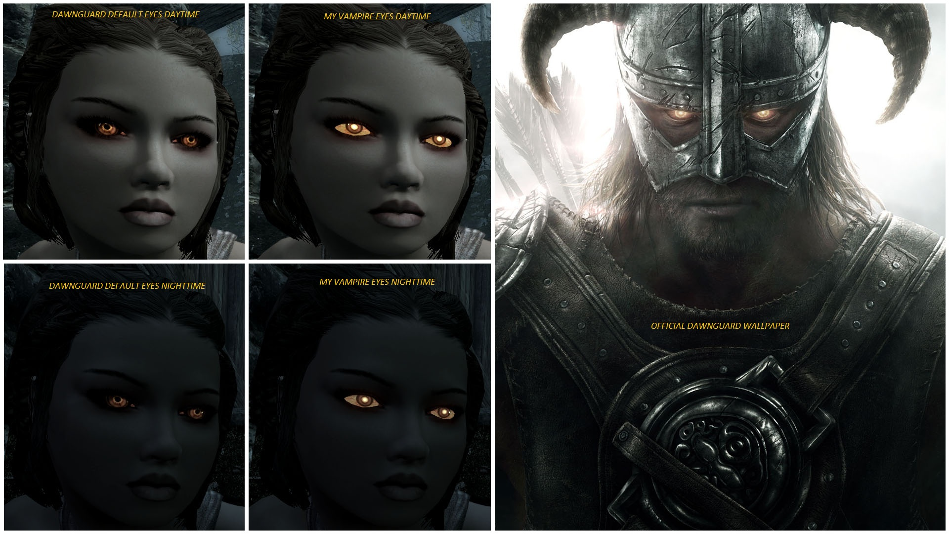 Eyes Vampire Skyrim Nexus