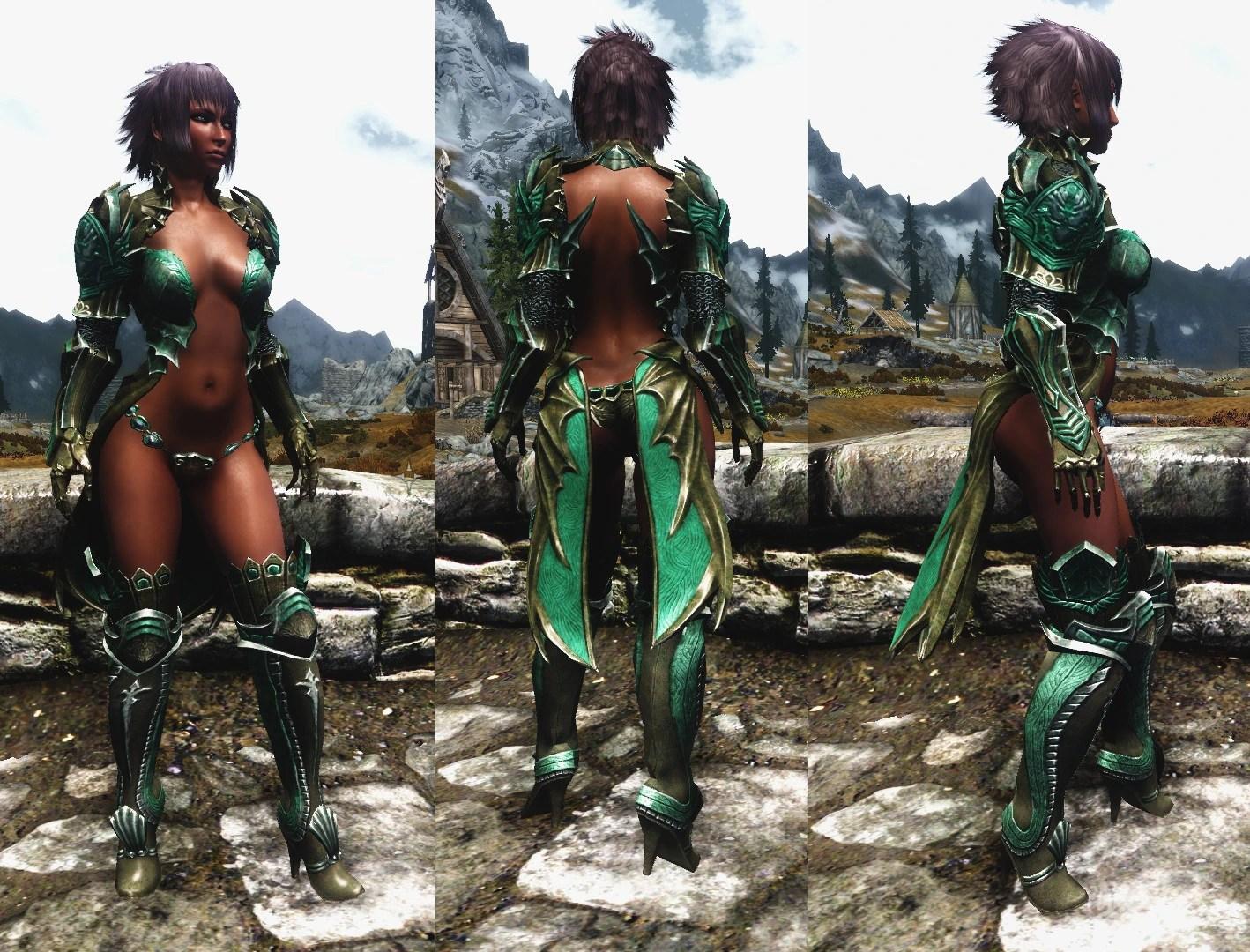 Tera Armor Skyrim Nexus