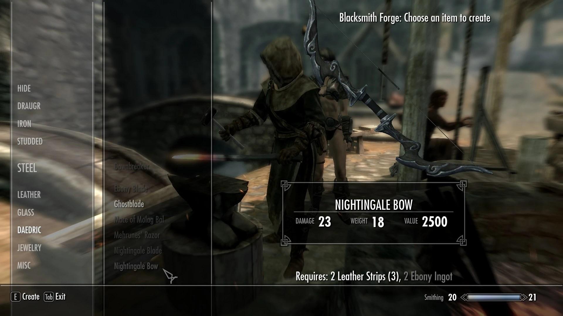 Mods Skyrim Unique Weapon