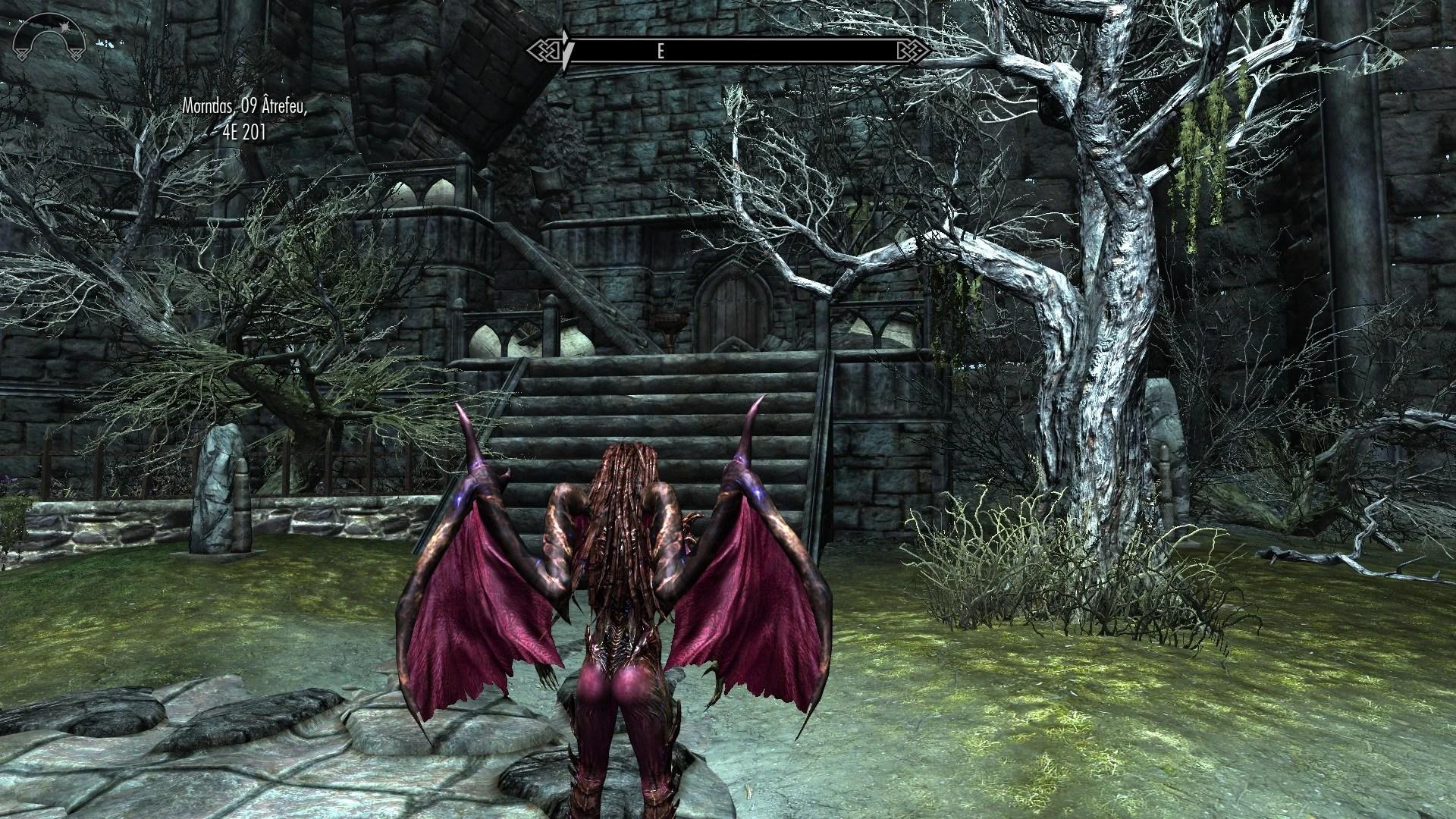 Skyrim Vampire Lord Retexture