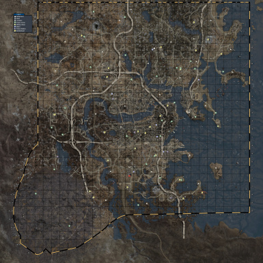 Satellite Color World Map Combo at Fallout 4 Nexus   Mods and community Satellite Color World Map Combo