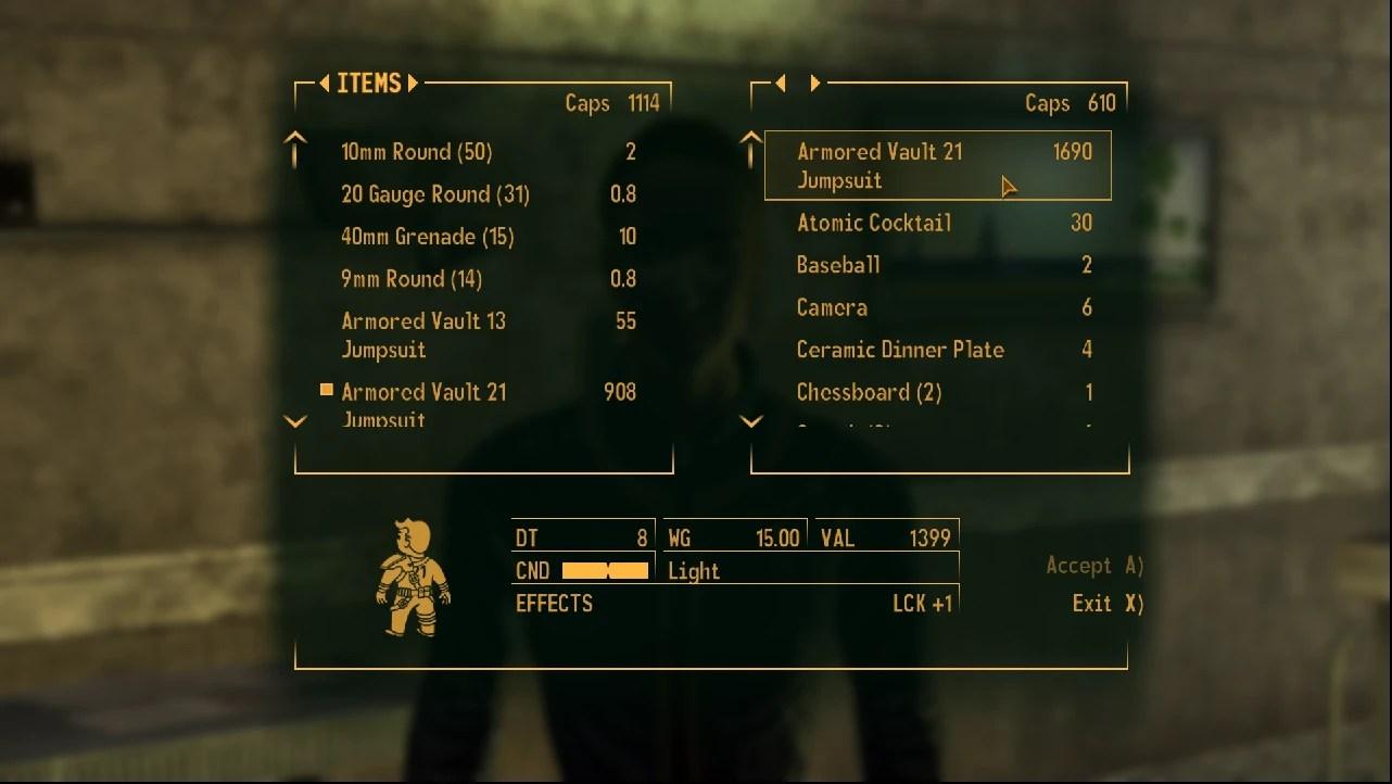 13 Armored Fallout Vault Jumpsuit New Vegas