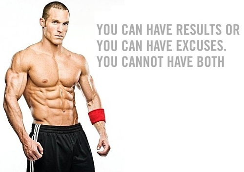 Body Weight Only Workout Results