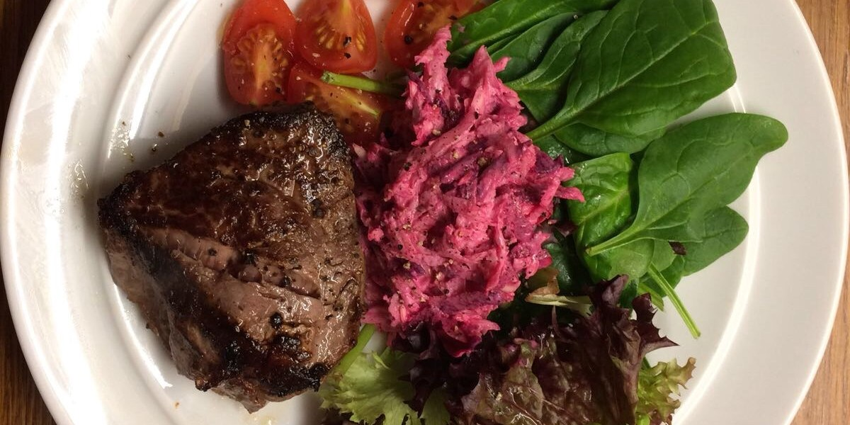 In-House Steak – 298 Calories