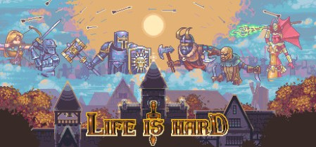 Life is Hard on Steam  Life is Hard  is a 2D real time strategy with elements of god simulator   The goal is to bring your tribe to the victory by evolving your village and