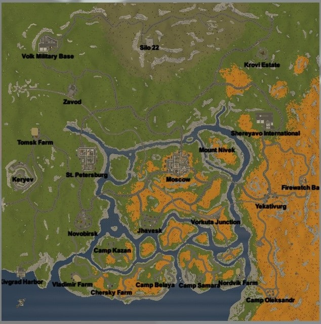 Russia Unturned Map Loot