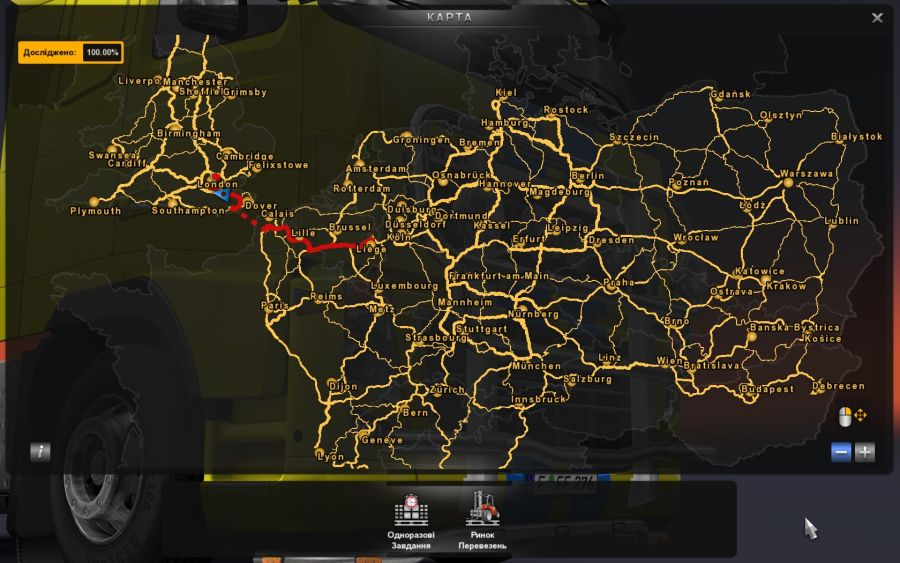 Ets2 uk map Steam Community Guide How to open map on 100 Important