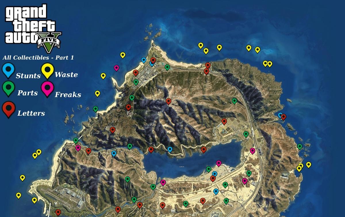 Map Ufo Gta V Locations