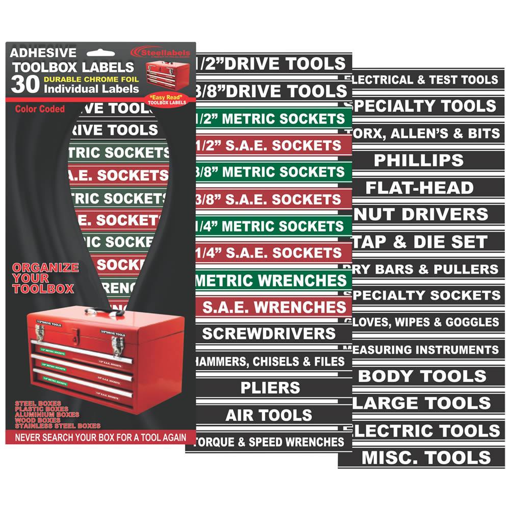 Tool Labels Craftsman Box