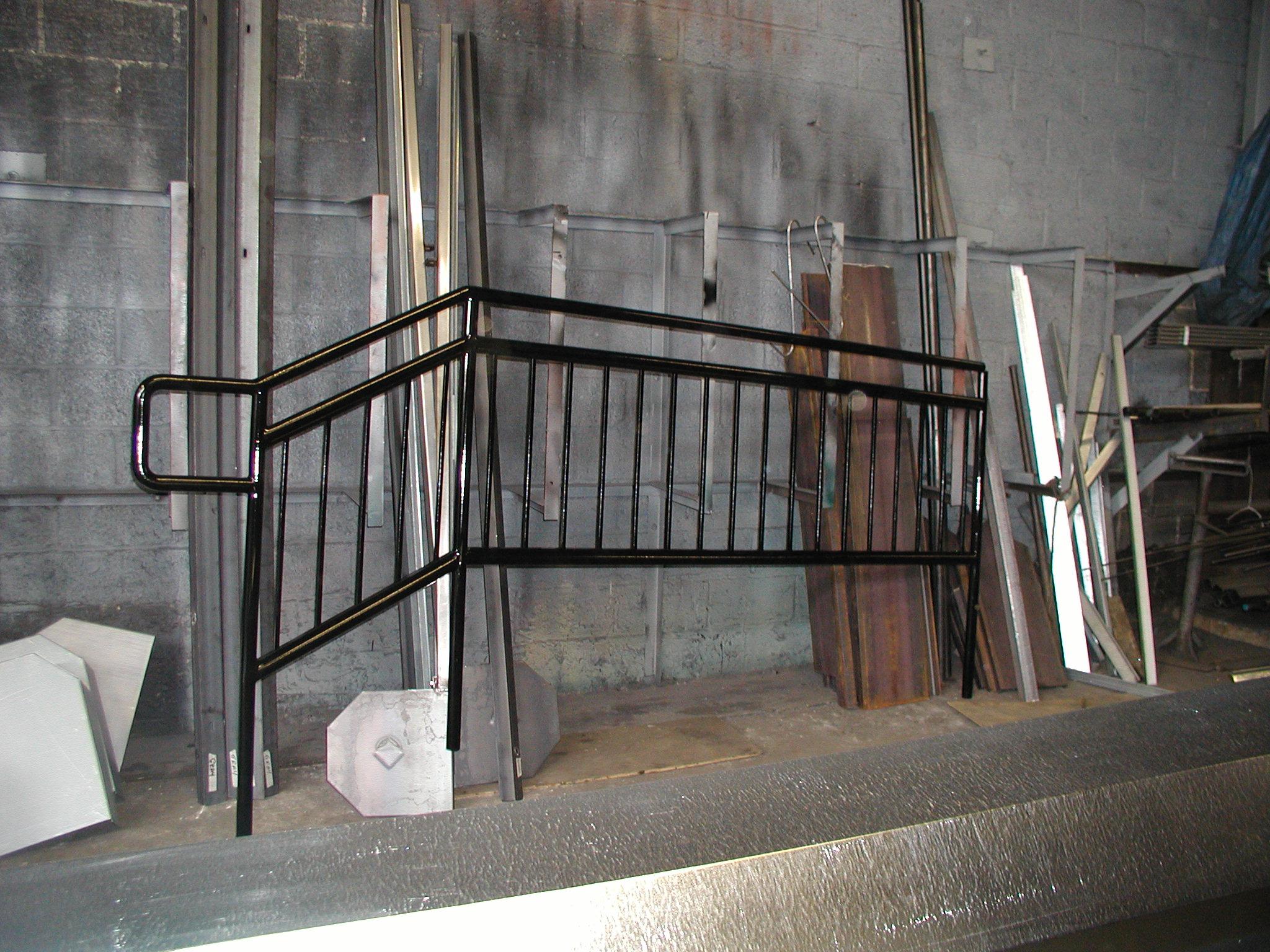 Metal Picket Railing
