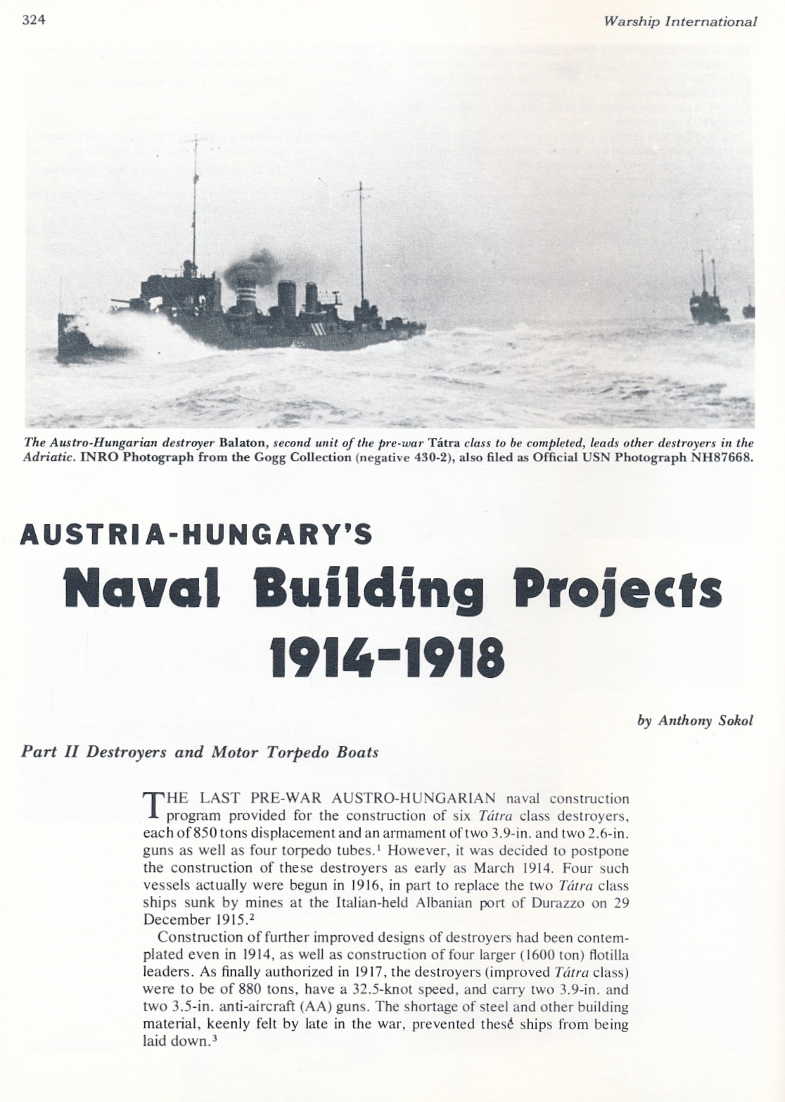 Austria-Hungary's building projects 1914-1918 Part II ...