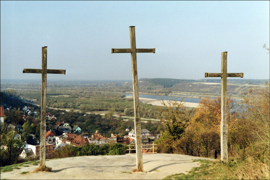 Three Crosses Three Sections Hill
