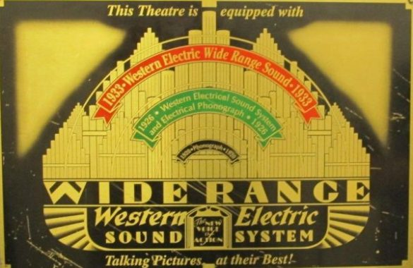 Stereo Mecmuas     G    nl    kleri  Western Electric Sound System 1926 Western Electric Sound System 1926