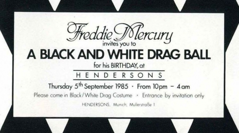 It Was 33 Years Ago Today Freddie Mercury S Infamous 39th