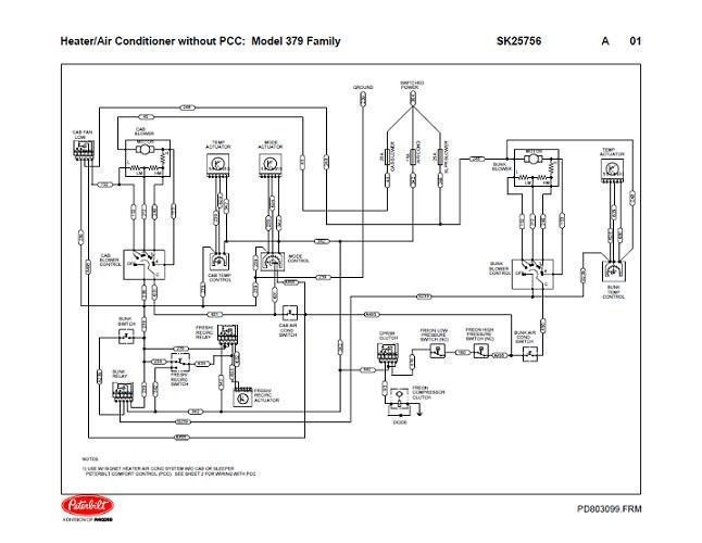 peterbilt 387 fuse panel diagram radio wiring diagram u2022 rh augmently co  1995 peterbilt 379 wiring diagram