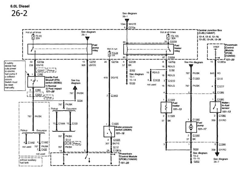 1994 ford ranger fuel pump relay diagram wiring for circuit regarding 1994 ford explorer wiring diagram 98 explorer fuel pump wiring