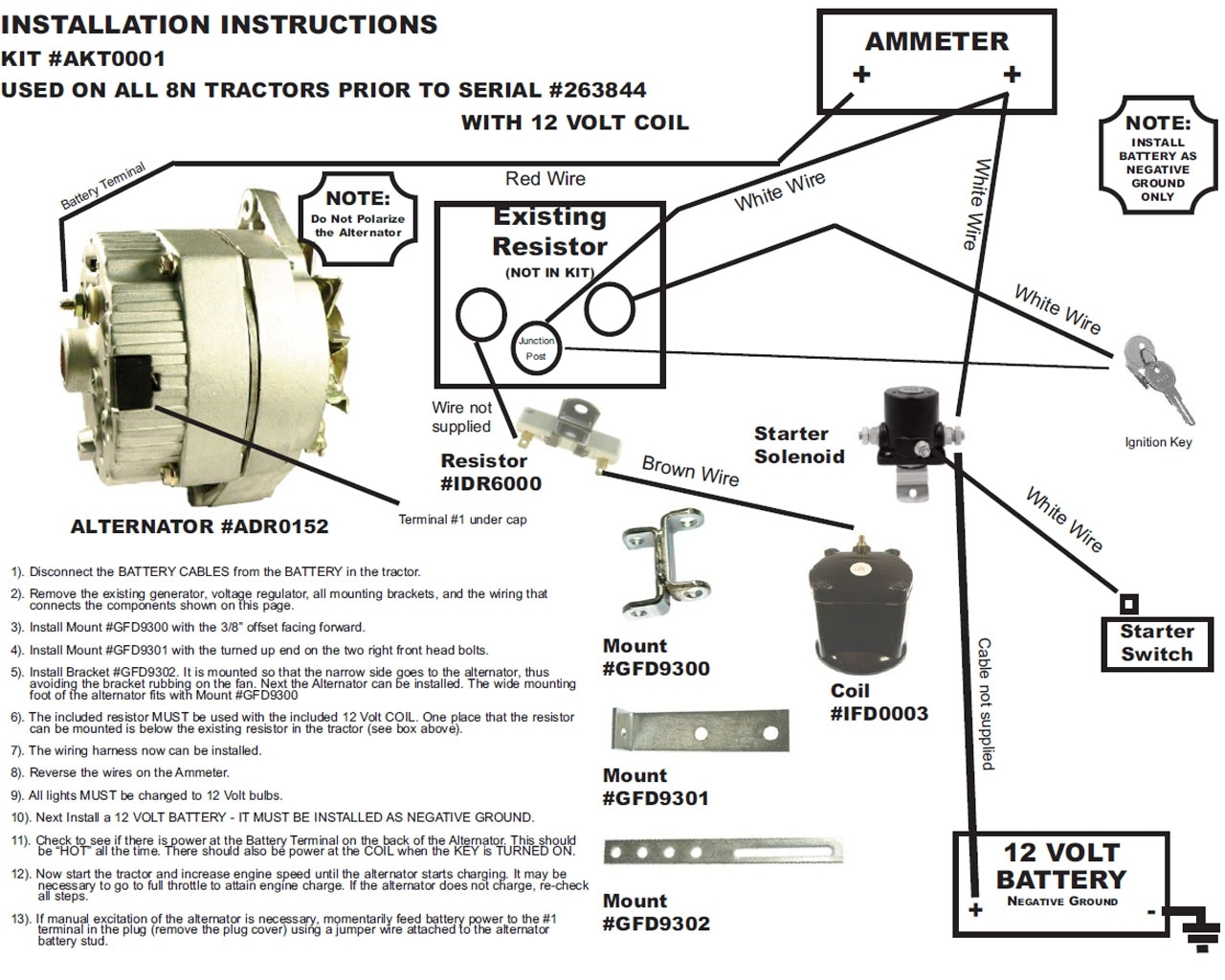 on hitachi alternator and regulator wiring