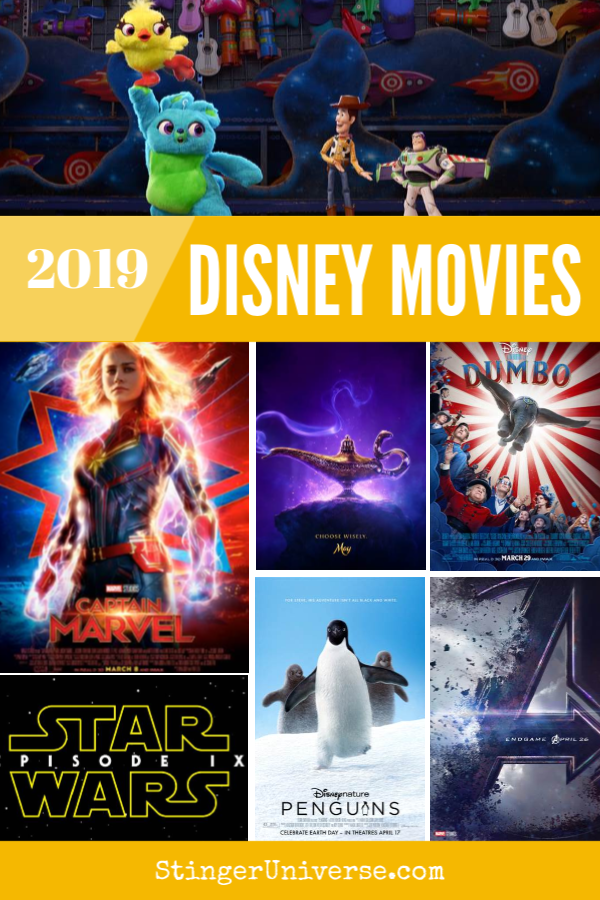 Get Ready for These New Disney Movies in 2019 - Stinger ...