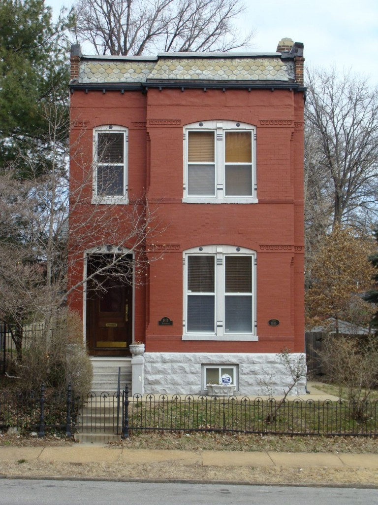 Late Nineteenth Century Houses Tower Grove East St