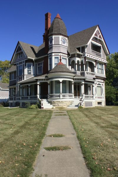 Stunning Queen Anne Style House  Fairfield  Iowa     St Louis Patina Iowa and St  Louis Place Redevelopment Plan 053