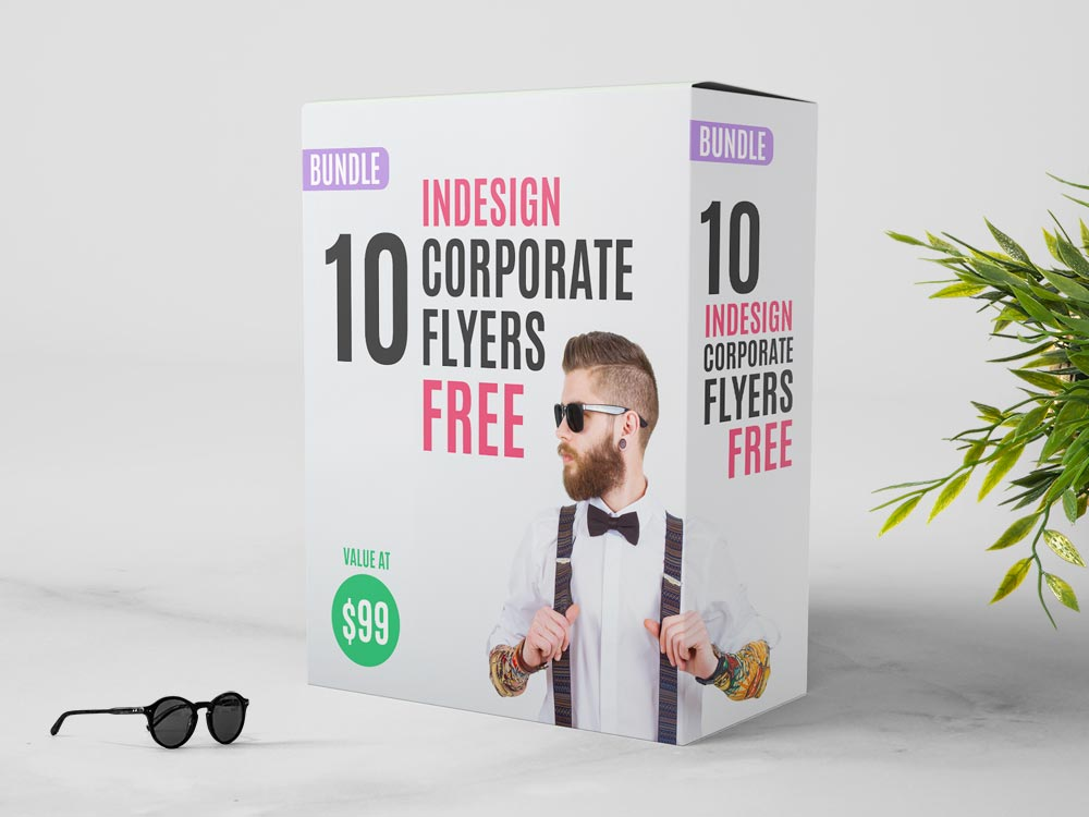 FREE InDesign Bundle  10 Corporate Flyer Templates   StockInDesign 10 FREE InDesign Bundle  10 Corporate Flyer Templates