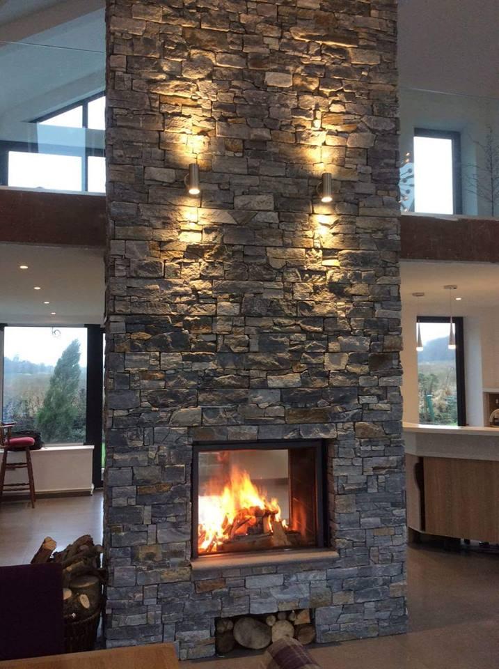 Adding Fireplace Interior Wall