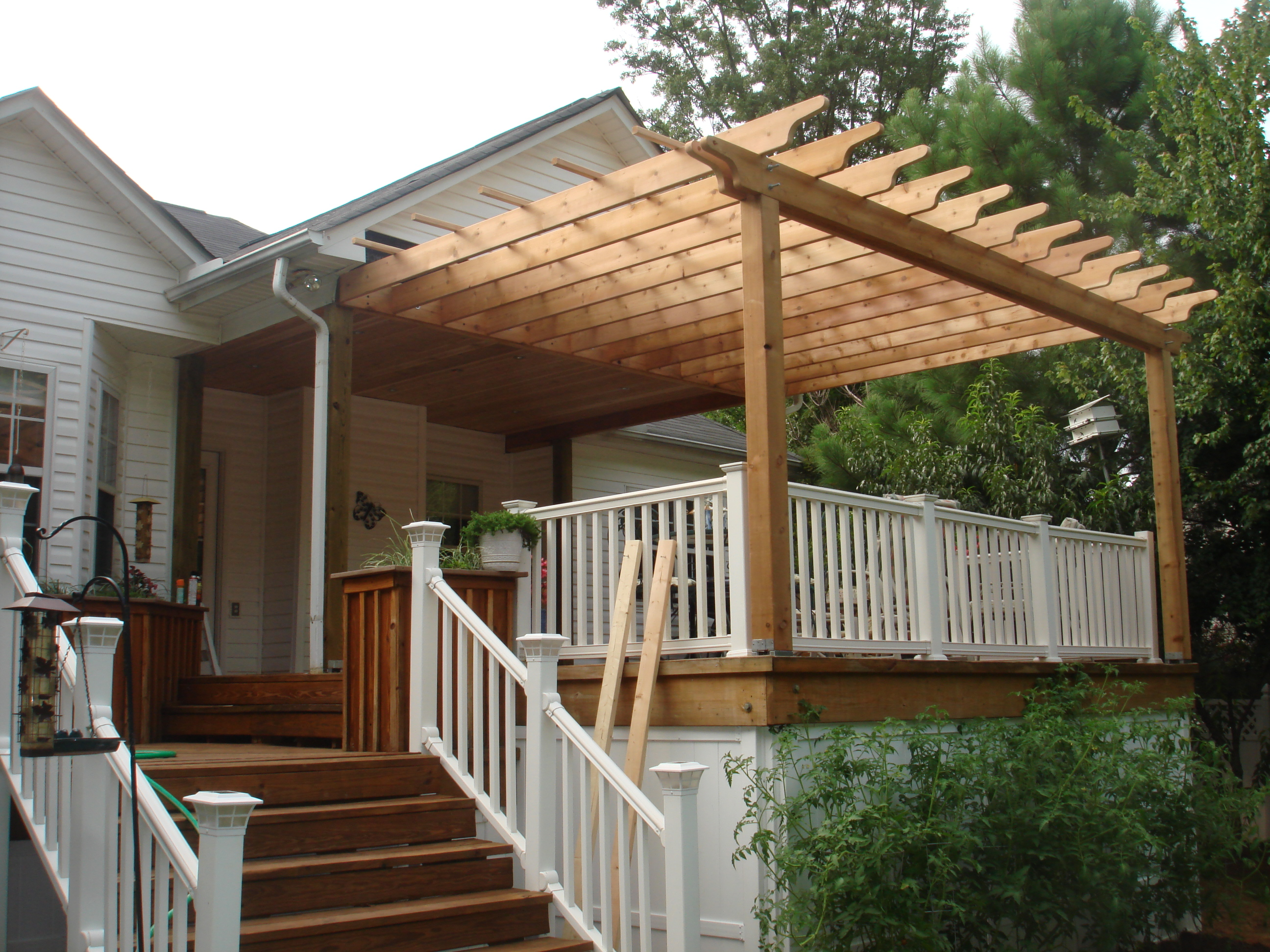 Pergola And Porch Living The Good Life In Gaston County
