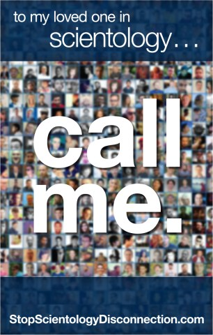 Posters   Magnetic Signs   Stop Scientology Disconnection Call Me Poster for Printing