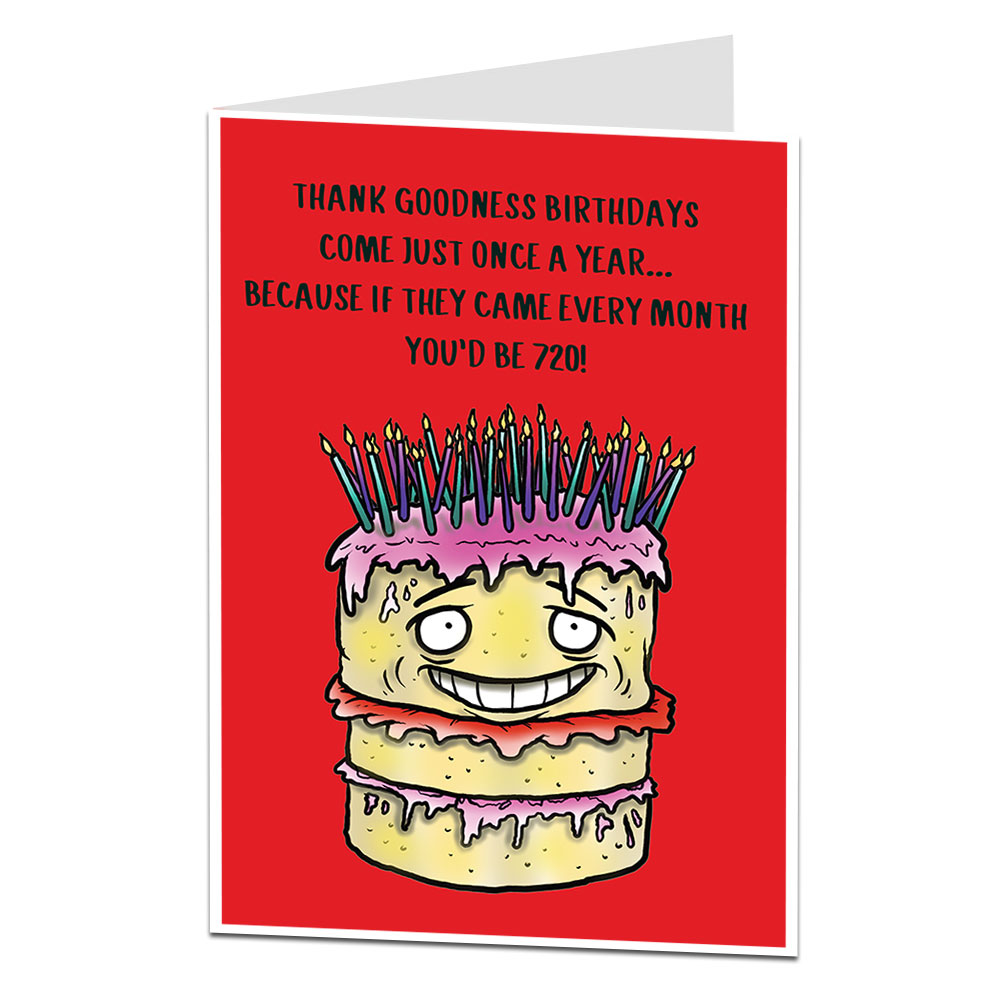 Funny 60th Birthday Card Age Joke Limalima Co Uk