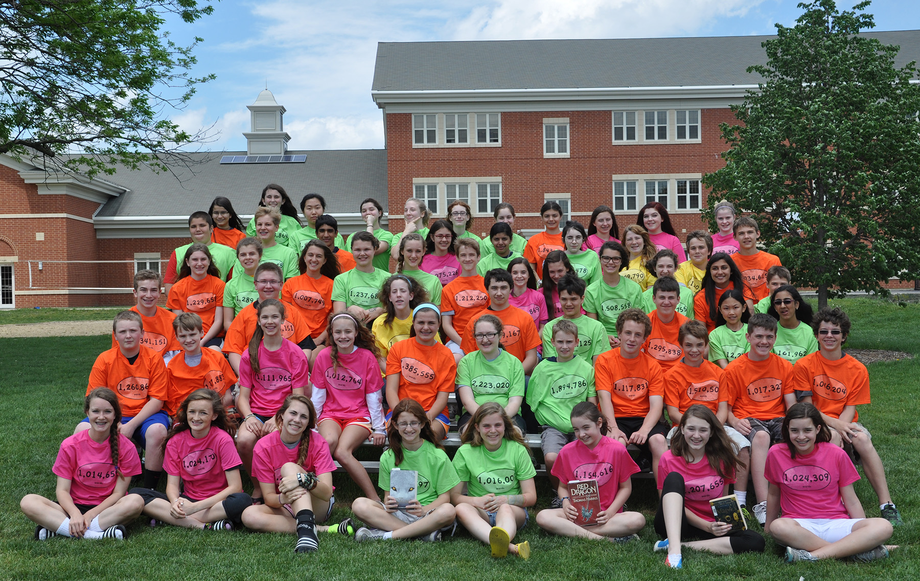 Students School 14 6th School Year Middle 2013 Wisconsi Hills Grade