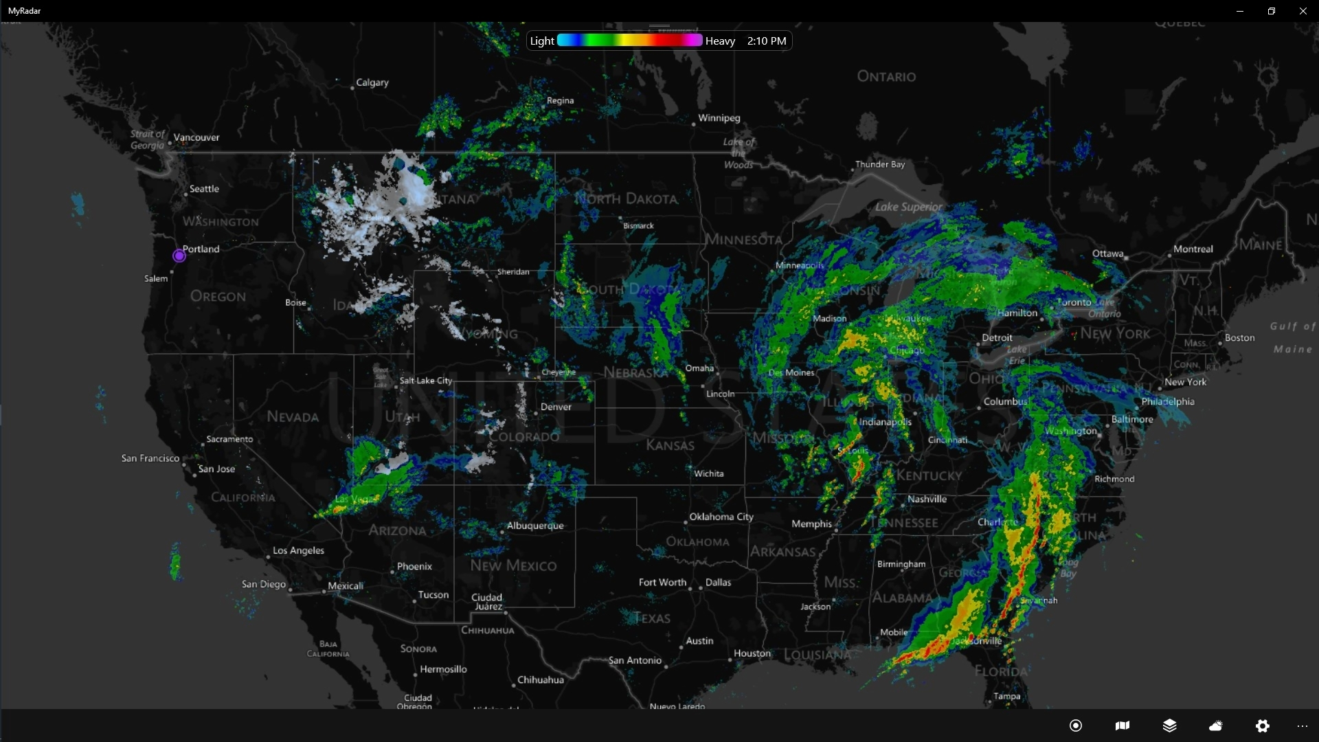 Get MyRadar   Microsoft Store You can easily pan zoom the map to any location and the animated radar will