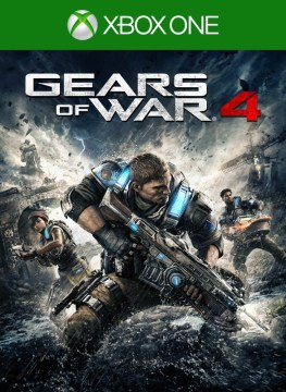 Xbox Play Anywhere   Xbox Gears of War 4 boxshot