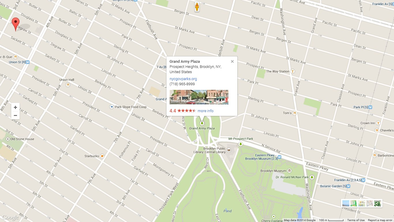 Get Maps App   Microsoft Store Screenshot  Map View