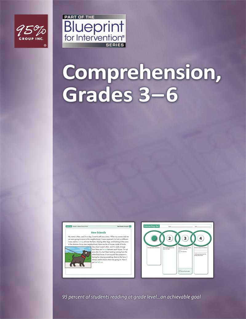Blueprint For Intervention Comprehension